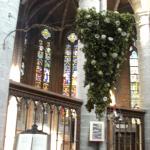 Kerkdecoratie voor Priesterwijding