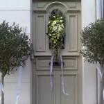 Huwelijk thuisdecoratie