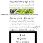 follow us @ fb josa bloemen en obin johan josa