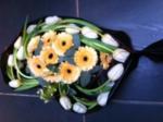 Valentijn en bloemen